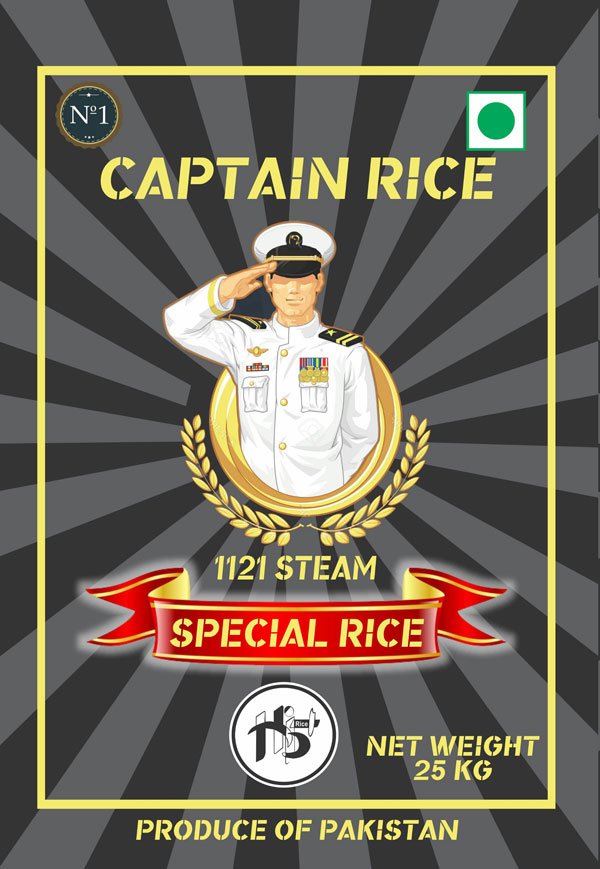 Hi5 Rice Captain Rice in Pakistan