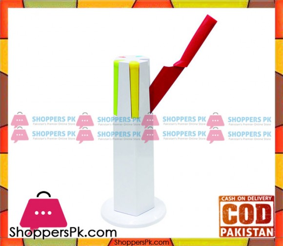 Prestige 5 Piece Flush Knives Set Multi Color 9022