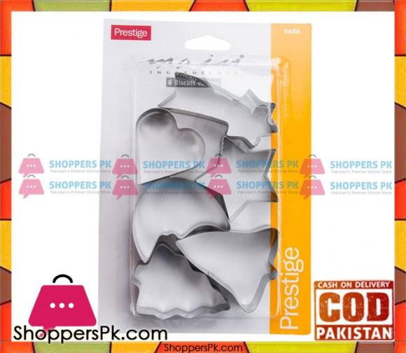 Prestige 6 Piece Biscuit Cutters 5686