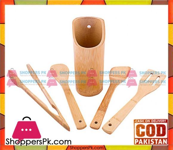 Prestige Bamboo Kitchen Tool Set of 5 Piece 42601