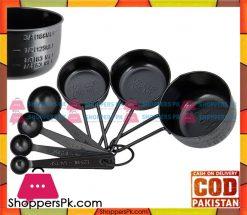 Prestige Measuring Spoons Cups Steel Black 50179