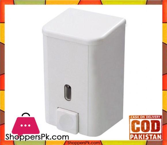 Primanova Bravo Soap Dispenser White 0.5 Liter Turkey Made SD01