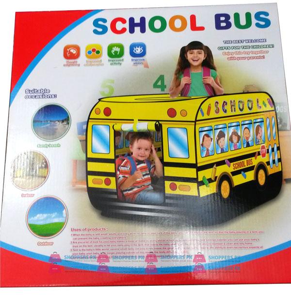 School Bus Pop Up Play Tent House Size  112 x 70 x 70 CM  sc 1 st  ShoppersPk.com & School Bus Pop Up Play Tent House - Shoppers Pakistan