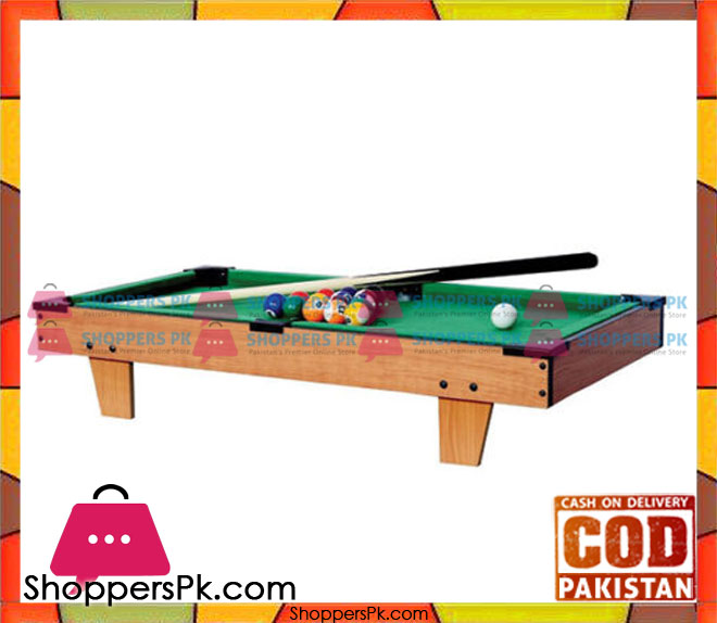 Wooden snooker table 27 inch shoppers pakistan for Gardening tools pakistan