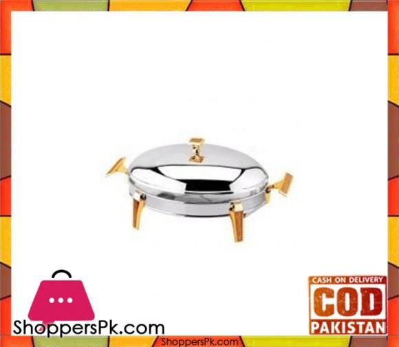 Regent Glitter Gold 3L Oval Dish #172756G