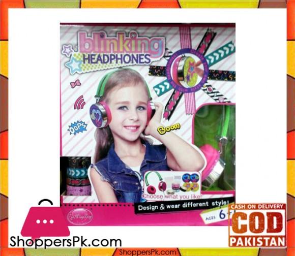 Blinking Headphone For Kid