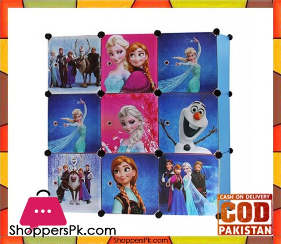 Frozen Super 9 Cube DIY Cabinet