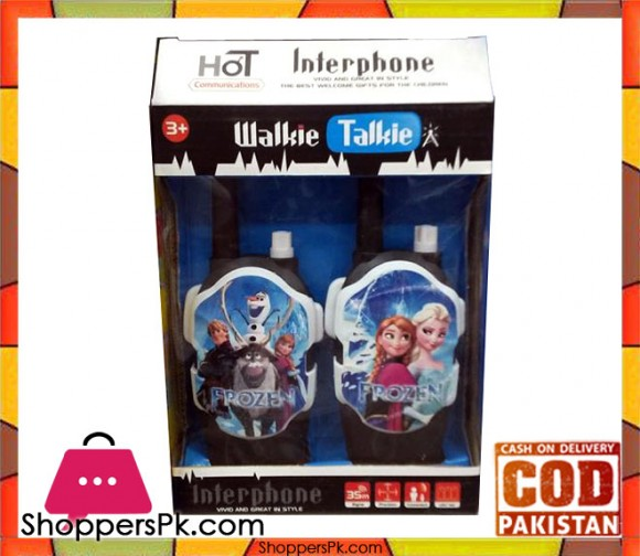 Frozen Walkie Talkies Children Interphone