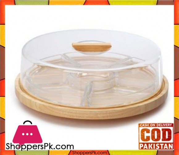 Billi Dry Fruit Tray with Cover - GW316AC Thailand Made