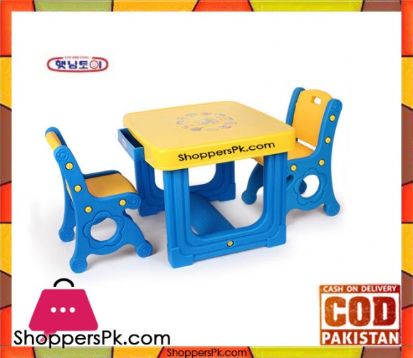 Haenim Prince Desk and Chair Double