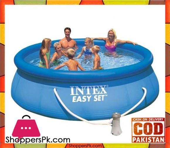 Intex Easy Set Inflatable Pool - 12 Feet x 30 inch - 56422