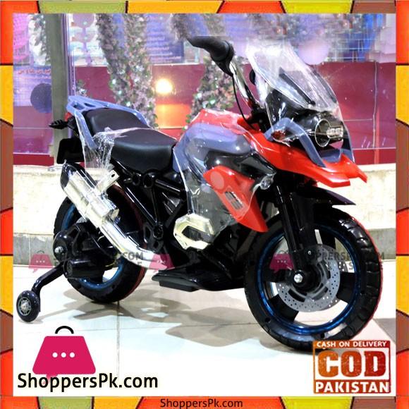 Kids Ride on Motocycle 12V Avigo GS1200 Hand Accelerator Function with Lighting Wheels
