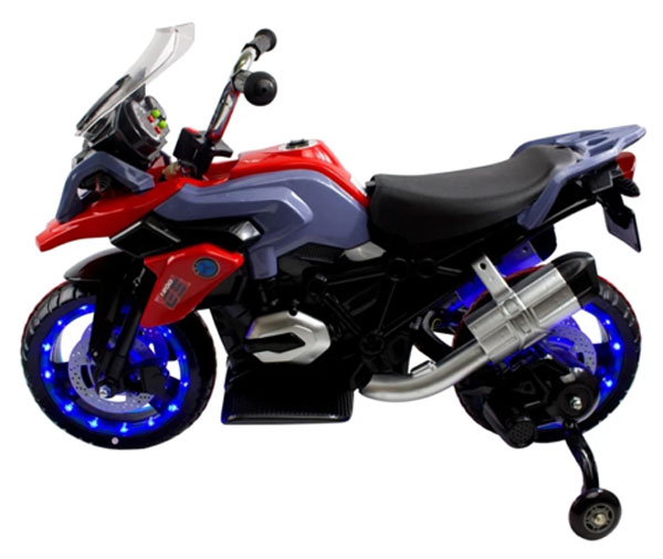 Kids Ride On Motocycle 12v Avigo Gs1200 Twisting