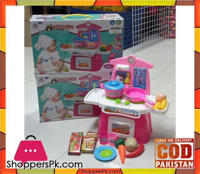 Kitchen Set Toys Price: Buy Mini Kitchen Toy Set With Light Sound LS820A12 At Best