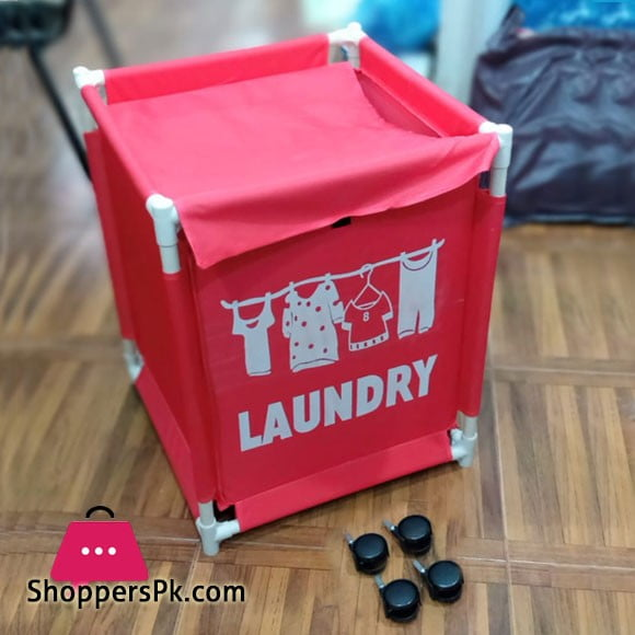 Oxford Clothes Laundry Basket 18 x 18 x 21.5 Inch