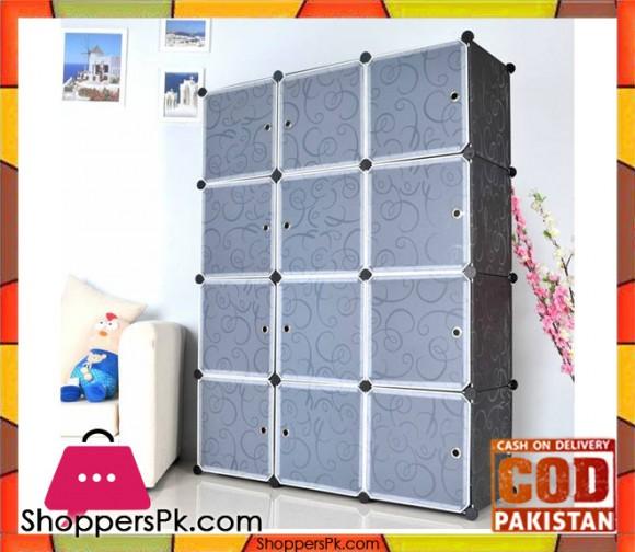 Intelligent Plastic Portable Cube Cabinet - Portable Cabinet 12 Cube