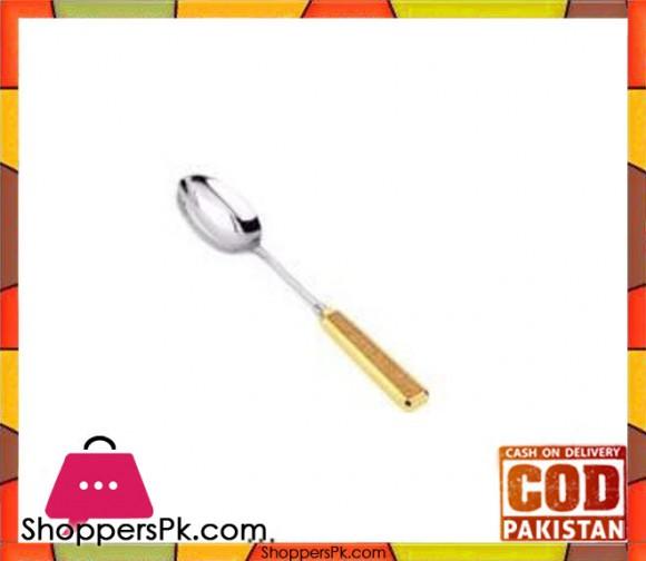 Regent Glitter Gold Salad Spoon #C1167CG