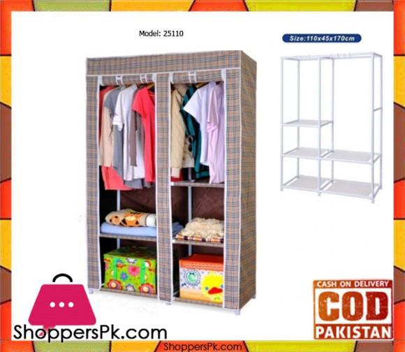 Sweet Home Portable Storage Wardrobe 25110