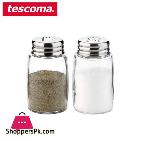 Tescoma Classic Salt & Pepper Shaker 2 Pcs Set Italy Made #654010