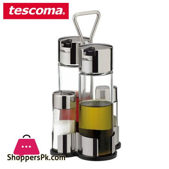 Tescoma Club Oil - Veniger and Salt Set Italy Made #650354