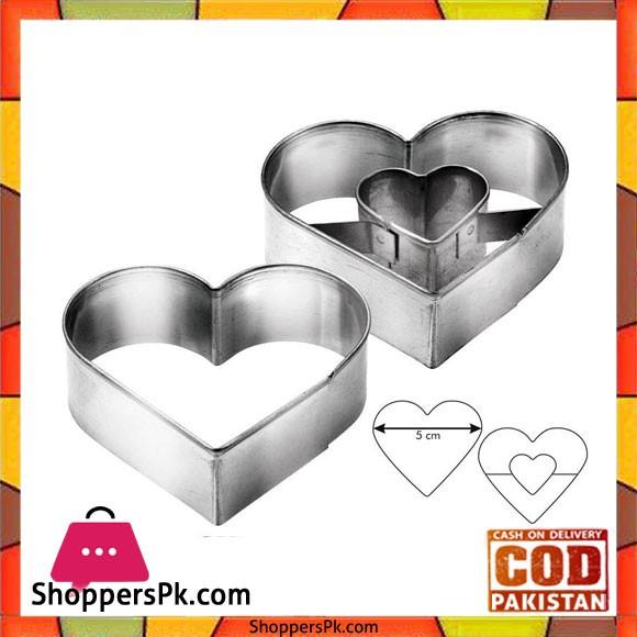 Tescoma Delicia 2Pcs Heart Shape B/C #631190