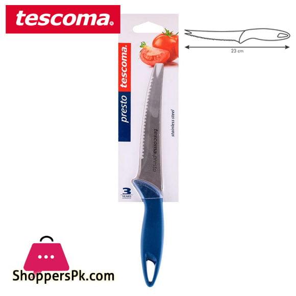 Tescoma Presto Vegetable Knife 12cm Italy Made #863009