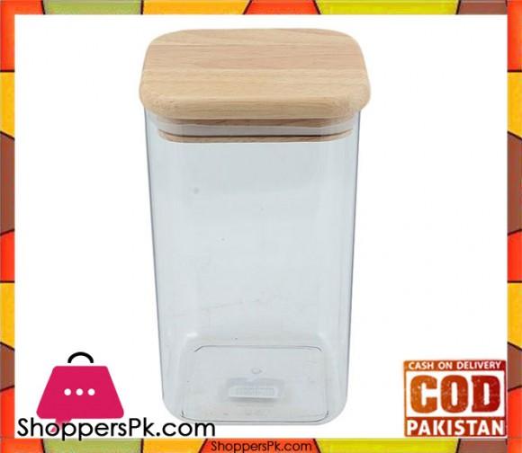 Billi Wooden Jar Large #WP873