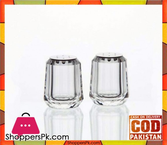 Acrylic 2 Pieces Salt And Pepper Set Small