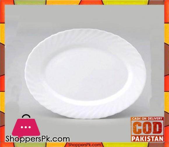 Arcopal Delian Oval Plate