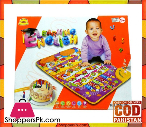 Baby English Learning Musical Carpet
