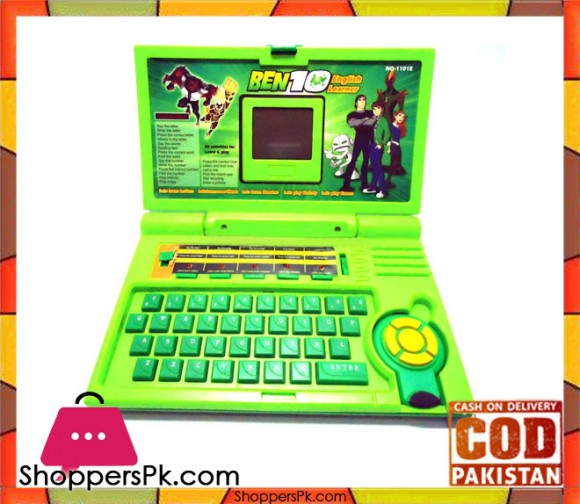 Ben 10 English Learner Laptop For Kids And 20 Activities Ages 8+ 1101E