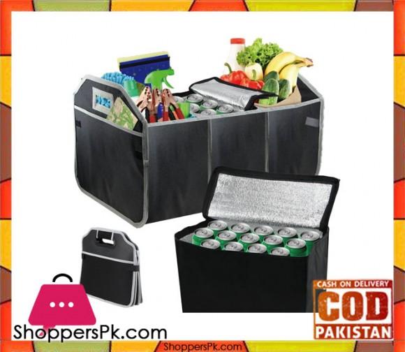 Car Boot Tidy Trunk Organiser & Cooler