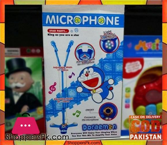 Double Mic Doreamon Toy