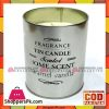 Fragrance Tin Candle (Coffee) Long Burn Time