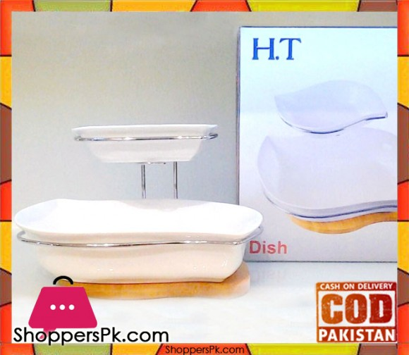 H.T 2 Step Serving Dish