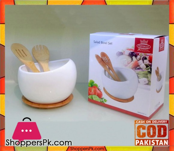 Imperial Salad Bowl Set QWA073015 (Size Small)