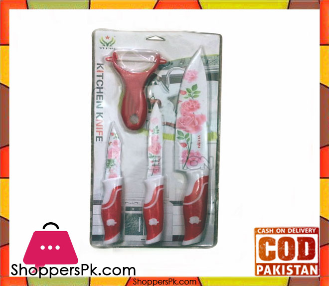 Kitchen knife set shoppers pakistan for Gardening tools pakistan