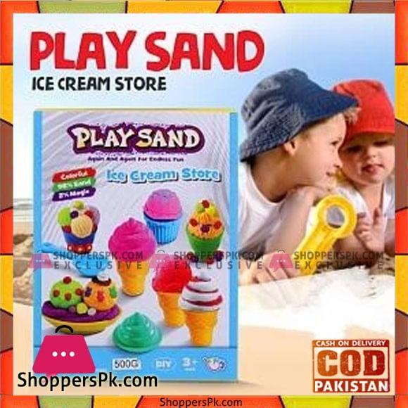 Magic Play Sand Ice Cream Store