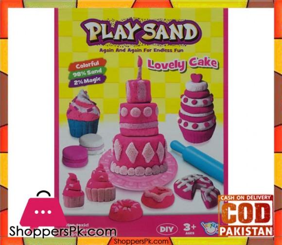 Magic Play Sand Lovely Cake