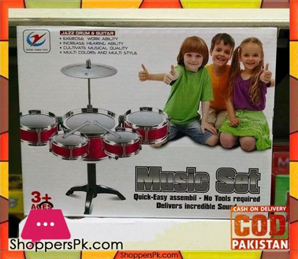 Music Drum Set For Kid