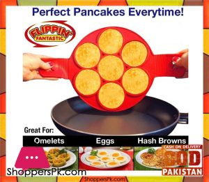 New Flippin' Fantastic Nonstick Pancake Maker Egg Ring Maker