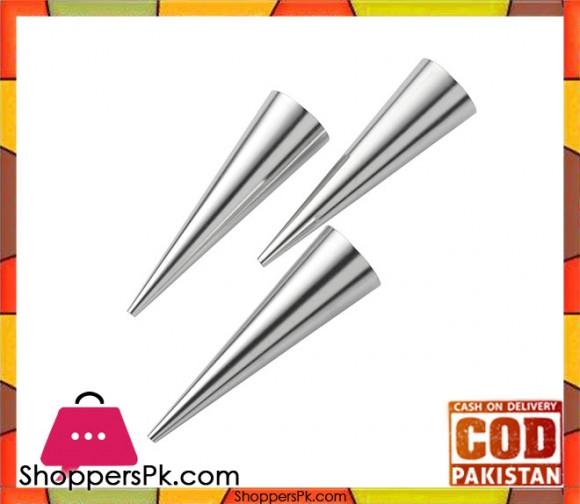 Pedrini 3 Pcs Stainless Steel Nozzles