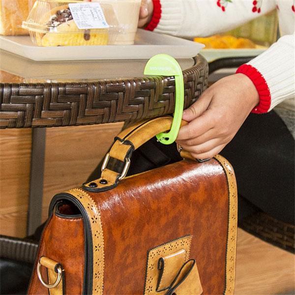 Removable Plastic Bag Hook Portable One Pieces