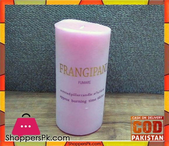 Scented Pillar Candle (Large)
