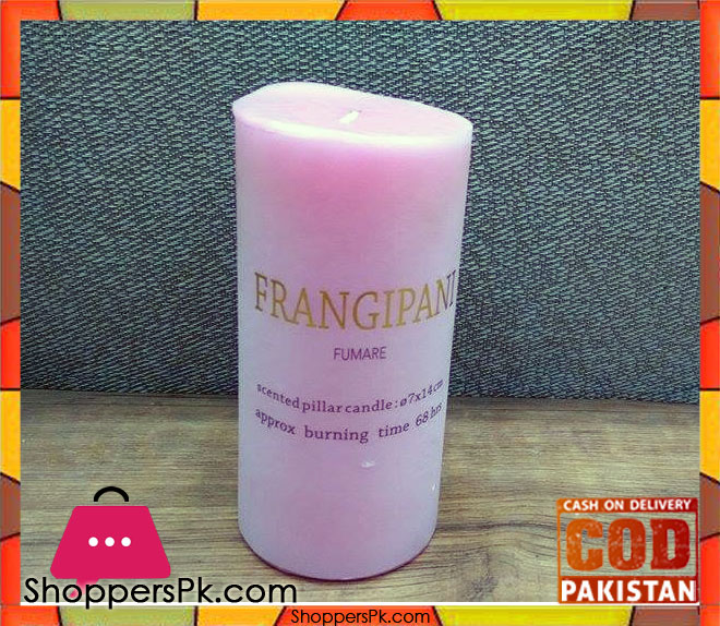 buy scented pillar candle large at best price in pakistan. Black Bedroom Furniture Sets. Home Design Ideas