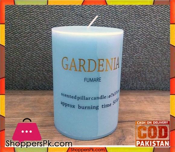 Scented Pillar Candle (Medium)