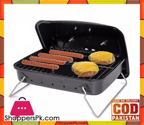 Table Top Grill Outdoor Charcoal Portable Cook Small Barbeque