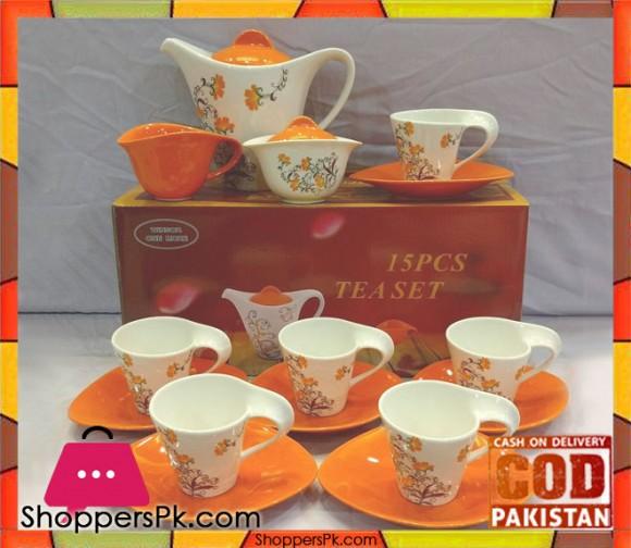 Tea Set 15 Pcs
