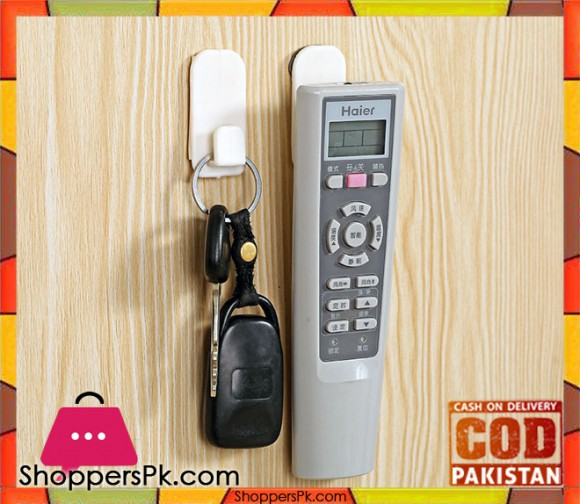 2 Pieces Wall Remote Holder