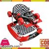 4 in1 Baby Walker Rocker Formula Racing Car And Push Handle-Red